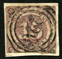 THURN AND TAXIS #51 German States Stamps Postage USED