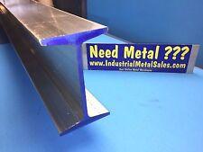"6061 T6 Aluminum I Beam 5"" x .210"" x 3"" x 12-Long-- 5"" Aluminum I Beam"