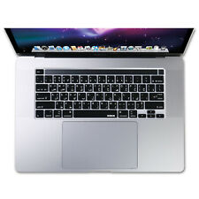 XSKN Arabic Language Keyboard Cover Skin for New Touch Bar MacBook Pro 16 A2141