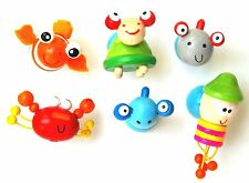 24 x Cute Wooden Sea Animal Fridge Magnets....Party Favours