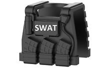 Swat E1 (W216) Vest Tactical Police vest compatible w/toy brick minifigures Army
