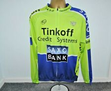 SAXO BANK TINKOFF - UCI WORLD TOUR CYCLING JERSEY MENS SIZE 2XL