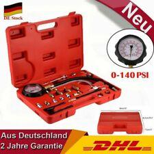 Benzindruck Tester Einspritzanlage Kraftstoffdruckprüfer Druckmesser 0-140PSI
