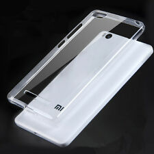 Ultra Slim Soft TPU Gel Silicone Clear Crystal Case Cover For Xiaomi Mi 4C Mi 4i