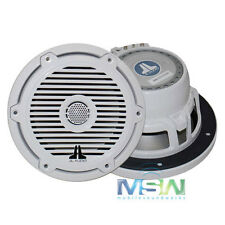 "JL AUDIO® M650-CCX-CG-WH 6.5"" MARINE COCKPIT SPEAKERS w/ CLASSIC GRILLES WHITE"