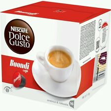 Dolce Gusto Buondi Coffee 16Pods 16 servings loose no box UK stock fast delivery