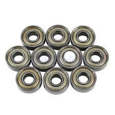 10 X Cuscinetti Cuscinetto A Sfera 8x22x7mm 608zz Ball Bearing Per Skateboard DB