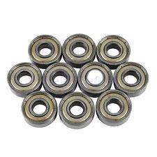 10 X Cuscinetti Cuscinetto A Sfera 8x22x7mm 608zz Ball Bearing Per Skateboard DB