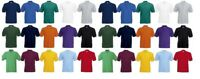 Mens Fruit of the Loom Polo Shirt Plain Short Sleeve Polo T Shirt Top S - XXXL