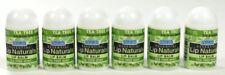 SPF 15 Tea Tree Mint Ora Labs Essential Lip Naturals Lip Balm 6 Pack Mini