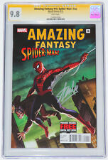 AMAZING FANTASY #15 Spider-Man nn EXCLUSIVE CGC SS 9.8 SILVER SIGNED by STAN LEE