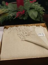 NWT Crate And Barrel Tinsel Throw 40x70