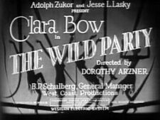 THE WILD PARTY (DVD) - 1929 - Clara Bow, Fredric March