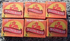 Hem Dragon's Blood Incense 6 x 10 Cone, 60 Cones Dragons Blood Bulk Lot NEW {:-)