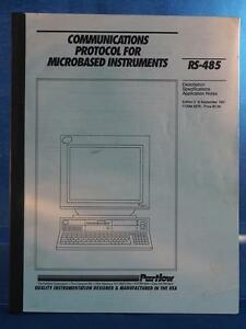 Vintage Partlow RS-485 Communications Protocol for Microbased Instruments dq
