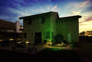 BlissLights 02-FWDEF-GREEN Spright Motion Indoor/Outdoor Firefly Laser Projector