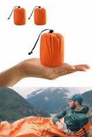 Reusable Emergency Sleeping Bag Warm Waterproof Survival Camping Travel Bag DO
