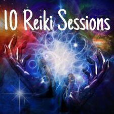 Reiki Distance Energy Healing Intention Remote Session, 10 sessions/60min each