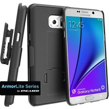 Samsung Galaxy Note 5 Shell Holster Combo Slim Case with Belt Clip & Kickstand