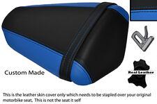 BLUE & BLACK CUSTOM FITS KAWASAKI NINJA ZX6 R 09-13 PILLION SEAT COVER
