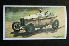 French GP  Lyons  1914 Mercedes  Motor Racing Card  # VGC