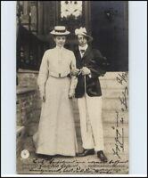 Adel Monarchie 1904 ab Remscheid nach Hückeswagen mit Ankunftsstempel gelaufen