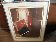 Bertrand Dorny (French artist) abstract Aquatint Etching Signed, limited edition