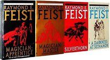 Riftwar Saga 1-4 Raymond Feist Magician Apprentice Master Silverthorn Sethanon