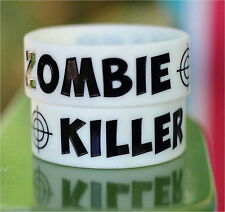 ZOMBIE KILLER Wristband - Outbreak Response Team Biohazard Paintball Airsoft