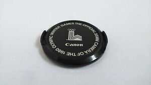 【Mint】Canon 52mm Lens Cap 1980 Lake Placid Olympic Official From Japan #453