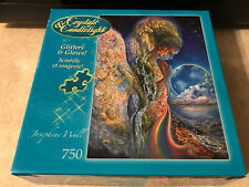 Crystals & Candlelight 750 Pc Puzzle Angel Melodies. Glitter Glow Josephine Wall