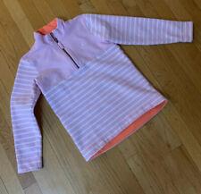 Joules Girls Sweatshirt Pink Striped Size 8/9
