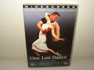 One Last Dance - DVD - REGION 4 - VGC
