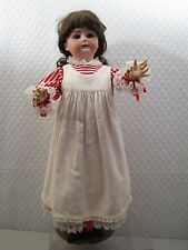 26 in ANTIQUE GERMANY mold 6-1/2 JDK Kestner SLEEP EYE Bisque doll compo Body mb