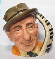 ROYAL DOULTON  LARGE CHARACTER JUG JIMMY DURANTE  D6708 CELEBRITY COLLECTION