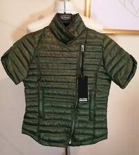 Bomboogie Shortsleeve Quilted Bodywarmer Jacket Green Size Girl 12