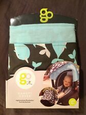 Go by Goldbug Canopy Cover Baby Car Seat/Carrier Narwahl Design NEW!
