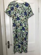 Ladies Green Dress With Flowers Size 12 From ASOS