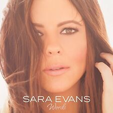 SARA EVANS CD - WORDS (2017) - NEW UNOPENED - COUNTRY - BORN TO FLY