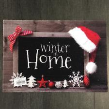 € 53,96/qm / Fußmatte Weihnachten Winter at Home Des.942 Tafel / 40 cm*60 cm