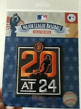 Official 20 at 24 San Francisco Giants Patch baseball jersey Stadium Patch