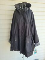 Free Country Radiance Women's Reversible Jacket Water Wind Resistant Size 2X-3X