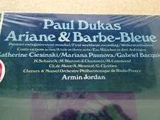 PAUL DUKAS Ariane Barbe Bleue NOS SEALED VINYL Disc LP 2 RECORD BOX Set IMPORT