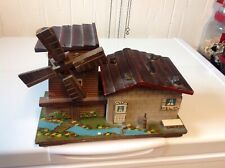 Large 7 by 10 wood  house music box