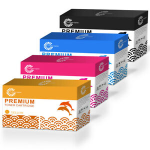4 Toner Compatible with HP Color LaserJet 1600 2600n 2605 2605dtn-124A CM1015