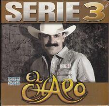 El Chapo Serie 3   3CD Caja De Carton New Nuevo Sealed