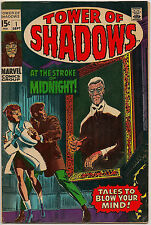 Tower of Shadows #1 (Marvel 1969) VF: story by Jim Steranko