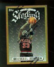 1996-97 Topps Finest Refractor Michael Jordan Chicago Bulls HOF w/ Coating