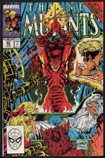 SIGNED Rob Liefeld & Geof Isherwood New Mutants #85 w/ Todd McFarlane Cover Inks
