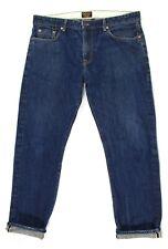 Civilianaire Mens 35 FITS 38 Slim Jeans Dark Wash Japanese Selvedge Selvage EUC